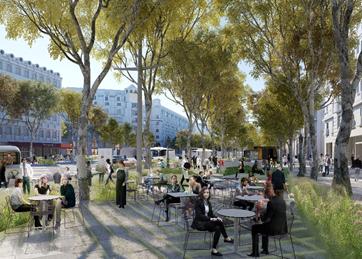 L'avenue des Champs Elysées en 2025